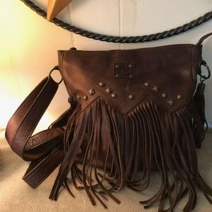 STS Ranch Fringed Purse